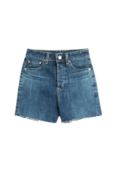 Alexa Chung For Ag Cut Off Denim Shorts