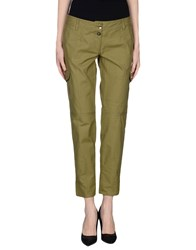 Ice Iceberg Trousers Casual Trousers Women Military Green