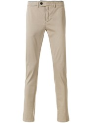 Department 5 Mike Trousers Cotton Spandex Elastane Nude Neutrals