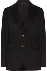 The Row Nodler Felt Blazer Black