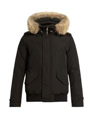 Woolrich Polar Weather Resistant Down Parka Black