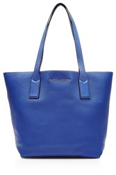 Marc Jacobs Wingman Shopping Leather Tote Blue