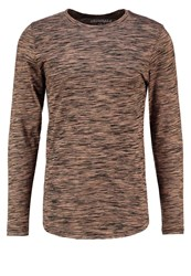 Jack And Jones Jorbask Slim Fit Long Sleeved Top Rosin Dark Green