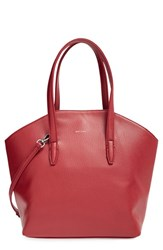 Matt And Nat 'Baxter' Vegan Leather Shopper Burgundy Bordeaux
