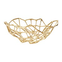 Tom Dixon Brass Bone Bowl Gold
