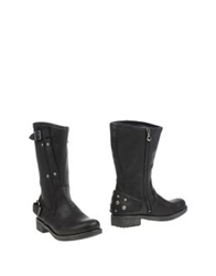 Replay Ankle Boots Black