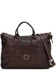 Campomaggi Double Zip Work Bag Brown
