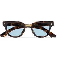Jacques Marie Mage Jules Square Frame Tortiouseshell Acetate Sunglasses Brown