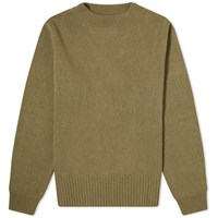 Mhl By Margaret Howell Mhl. Officer Knit Green
