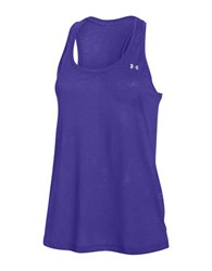 Under Armour Slub Textured Tank Deep Orchid