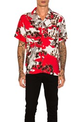 Stussy Falcon Button Down Red