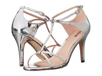 Paradox London Pink Peyton Silver Mirror Women's Sandals