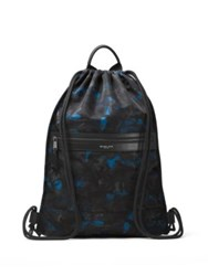 Michael Kors Kent Camouflage Backpack Ocean