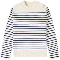 Norse Projects Verner Milano Crew Knit White