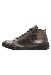 Pataugas Rocker Hightop Trainers Choco Brown