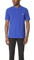 Paul Smith Regular Fit Polo With Zebra Badge