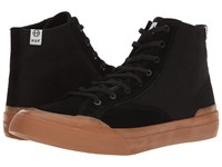 Huf Classic Hi Ess Black Gum Skate Shoes