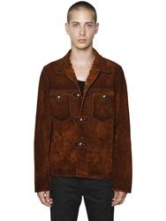 Htc Hollywood Trading Company Suede Western Style Jacket