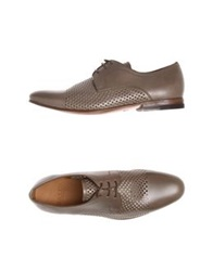 Bally Lace Up Shoes Khaki