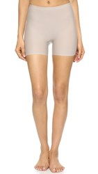 Spanx Perforated Girl Shorts Taupe Grey