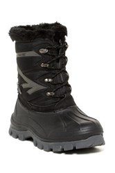 Hi Tec Avalanche 200 Waterproof Faux Fur Lined Weather Boot Black