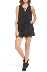 Women's Bp. Polka Dot Popover Romper