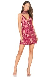 Free People Night Summer Mini Dress Red