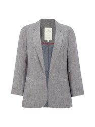 White Stuff Mono Blazer Grey