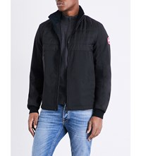 Canada Goose Jericho Down Filled Shell Bomber Jacket Black