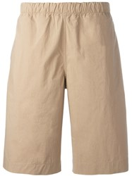 Paul Smith Ps By Stretch Waist Shorts Men Cotton 32 Nude Neutrals