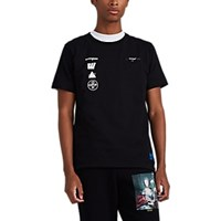 Off White C O Virgil Abloh Mariana De Silva Cotton T Shirt Black