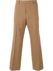 Gucci Twill Trousers Brown