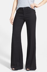 Women's Hudson Jeans 'Gwen' Wide Leg Twill Pants Black