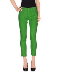 Ralph Lauren Denim Denim Trousers Women Green