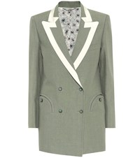 Blaze Milano Everyday Linen Blazer Green