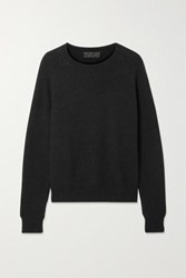 Nili Lotan Vesey Merino Wool And Alpaca Blend Sweater Black