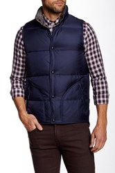 Grayers The Cambell Reversible Down Vest Blue