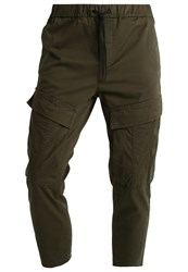 Yourturn Cargo Trousers Olive