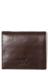 Rodd And Gunn Four Mile Bay Leather Wallet Brown Creek