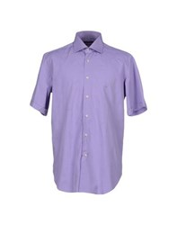 Ungaro Shirts Shirts Men Lilac