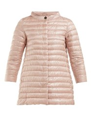 Herno Rosella Quilted Down Jacket Light Pink