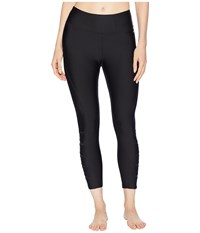 Jockey Active Nano Slash Capris Deep Black