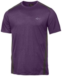 Greg Norman For Tasso Elba Men's Attack Life Performance T Shirt Created For Macy's Perfct Plum Tpd