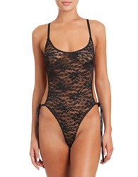 In Bloom Lace Infatuation Teddy Black