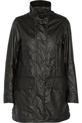 Belstaff Ct Master Waxed Cotton Coat Black