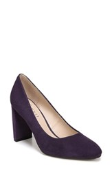 Franco Sarto Vanity Pump Purple Suede