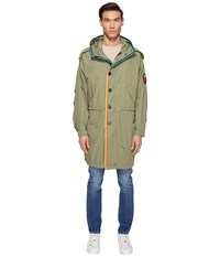 Marc Jacobs Oversized Rip Stop Parka Olive Men's Clothing