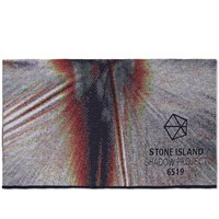 Stone Island Shadow Project Jacquard Wool Scarf Multi