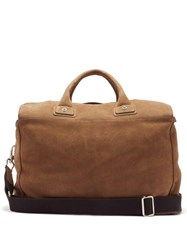 Connolly Sea 1902 Medium Suede Holdall Beige