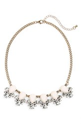 Junior Women's Bp. Teardrop Statement Necklace Pink Gold